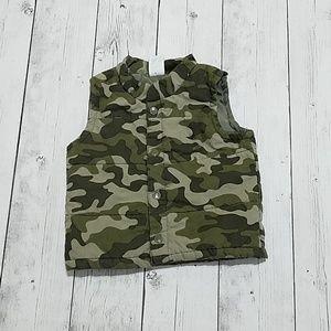 Kids 3T Camo Vest
